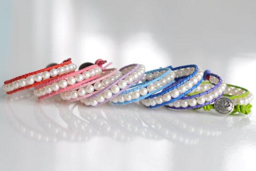 Rainbow Pearl Bracelets | Nantucket Pearl Company